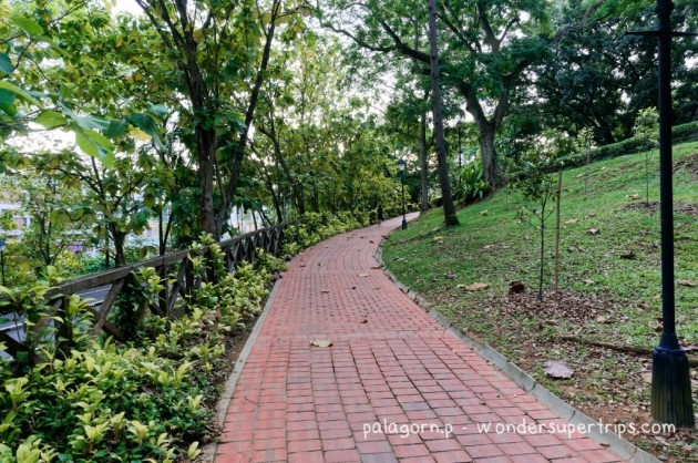 Fort Canning Park Walking